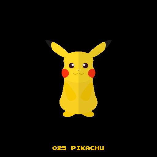 electr, kanto, picachu, pokemon icon