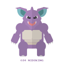 kanto, nidoking, poison, pokemon icon