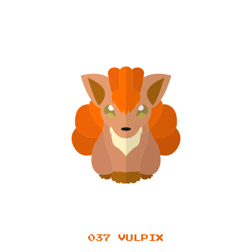 fire, kanto, pokemon, vulpix icon