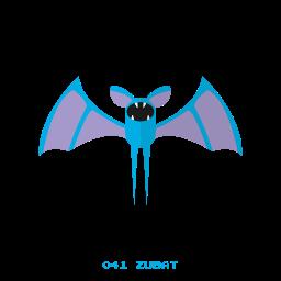 kanto, pokemon, veneno, volador, zubat icon