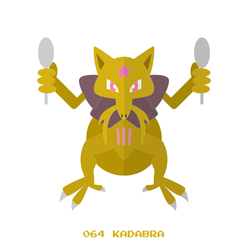 kadabra, kanto, pokemon, psy icon