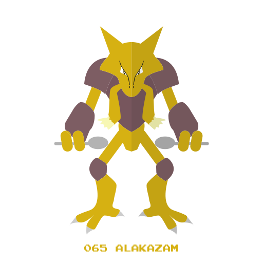 alakazam, kanto, pokemon, psy icon