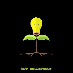 bellsprout, grass, kanto, pokemon icon