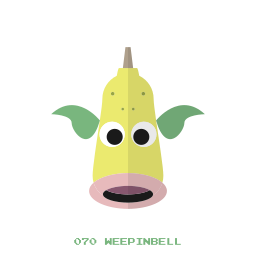 grass, kanto, pokemon, weepinbell icon