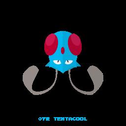 kanto, pokemon, tentacool, water icon
