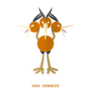 dodrio, flying, kanto, pokemon, volador icon