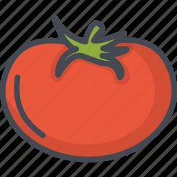 food, tomato, vegetables icon