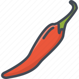 chili, food, hot, pepper, vegetables icon