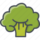 broccoli, cabage, food, vegetables icon