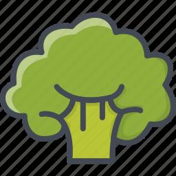 broccoli, cabage, food, vegetables icon