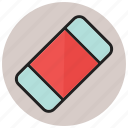 eraser, rubber, stationery icon