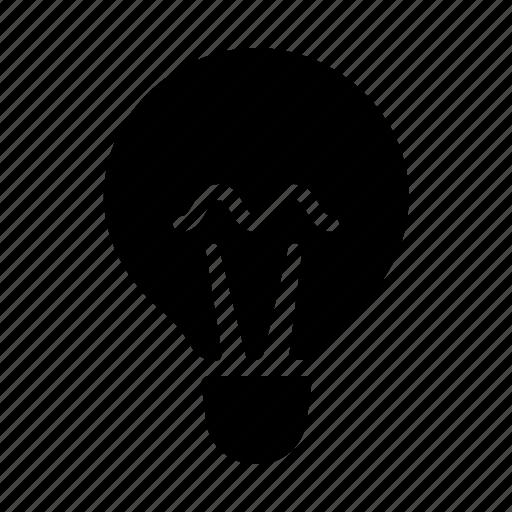 electricity, glass, lamp, light, lightness icon