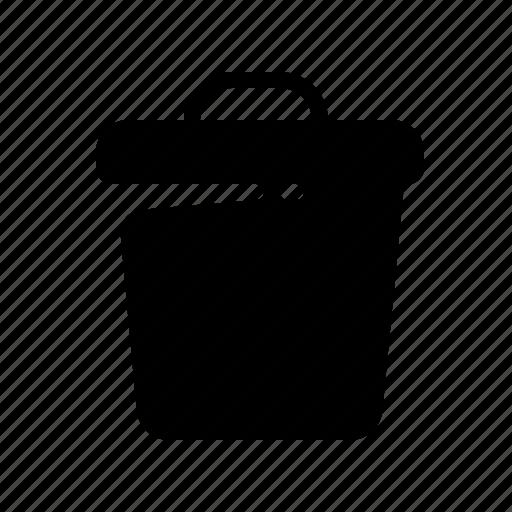 data, delete, files, spam, trash, trash bin icon