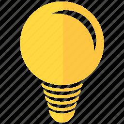 bulb, design, development, electric, lighting, solution, thread idea icon