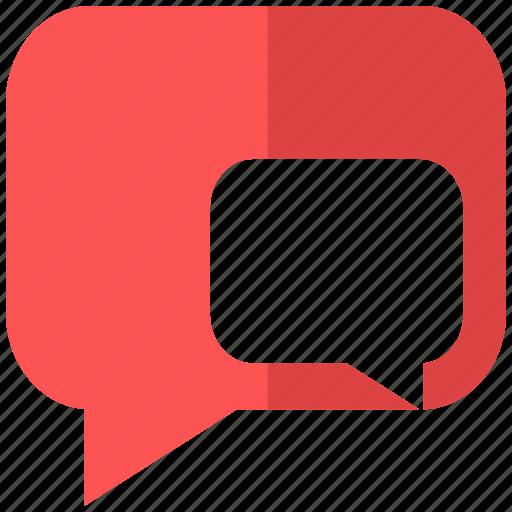 cloud, communication, conversation, exchange, info, information, opinion icon