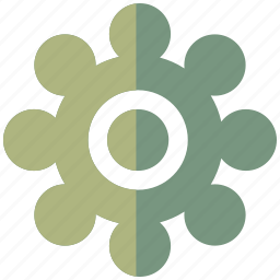 business, communication, company, connection, office, social, wheel icon