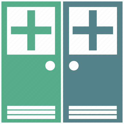 clinic, doctor, door, hospital, physician, room, surgery icon