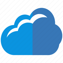 cloud, data, hosting, information, interface, message, server icon