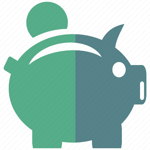 bank, coin, finance, investment, mumps, patience, savings icon