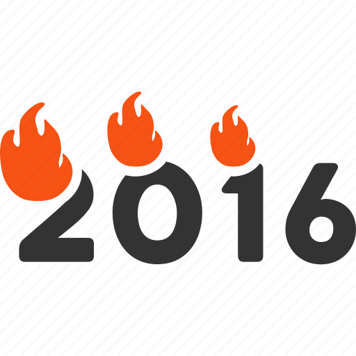 2017 year, caption, fired text, flame, flamed digits, hot, tag icon