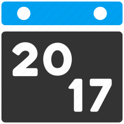 2017 year, appointment, calendar page, diary, leaf, plan, schedule icon