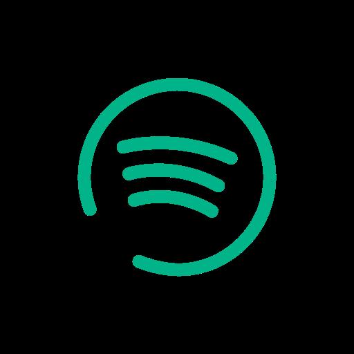 media, music, social, spotify icon