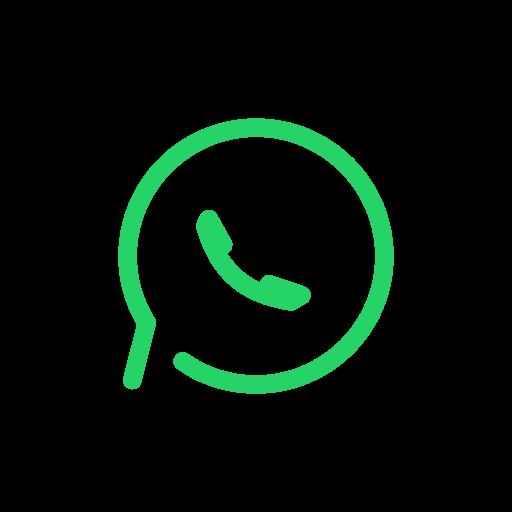 chat, media, social, wa, whatsapp icon