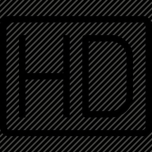density, hd, high, movie icon