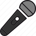audio, karaoke, media, mic, microphone, music, sound icon