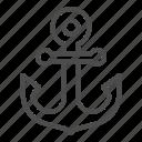 anchor, nautical, marine, vintage, steel, metal, hook