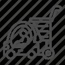 cart, product, child, toy, car, auto, basket
