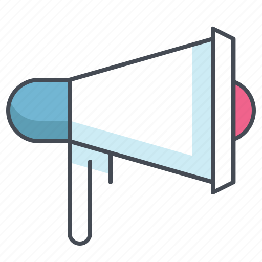 advertisement, announcement, business, finance, megaphone, promotion, speaker icon