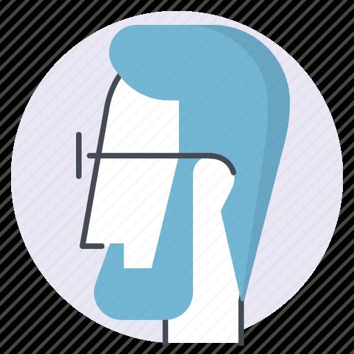 avatar, beard, business, businessman, geek, money, person icon