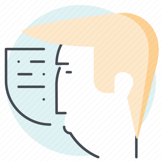 avatar, business, finance, money, speaker, speaking, thought icon