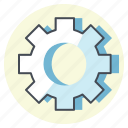 accounting, business, finance, configuration, optimize, option, setting icon