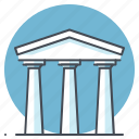 bank, building, business, debit, economy, finance, transaction icon