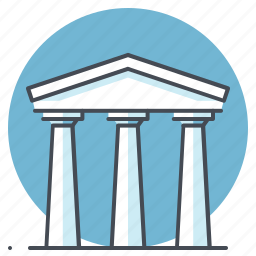 bank, building, business, debit, economy, finance, transaction icon