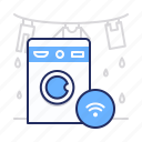 laundry, smart, washer icon