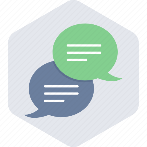 bubble, chat, communication, message, sms, talk, text icon
