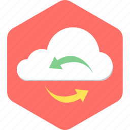 cloud, computing, internet, network, storage, upload icon