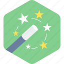 create, creation, magic, magic stick icon