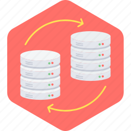 data, database, server, storage icon
