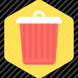 delete, dustbin, exit, garbage, recycle, remove, trash icon