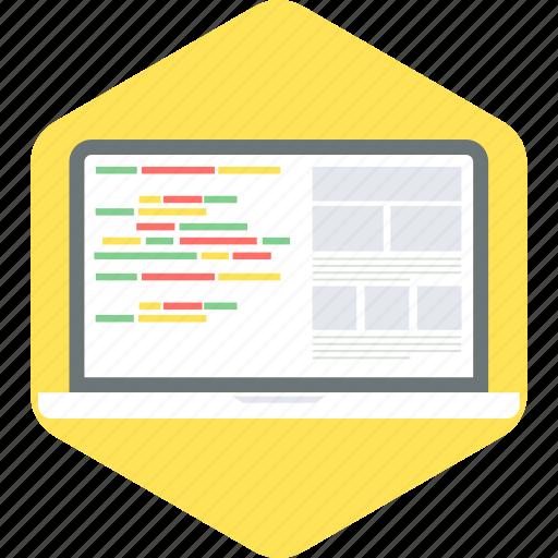 code, coding, development, html, language, programming icon