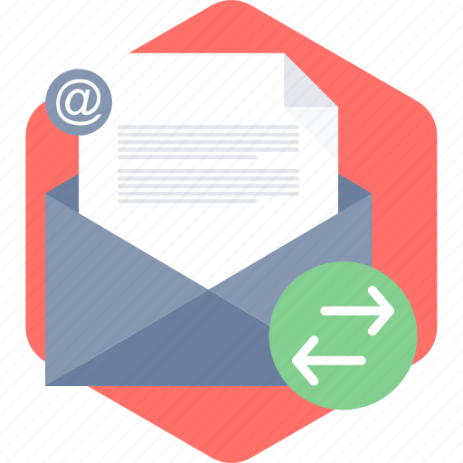 e, email, envelope, inbox, letter, mail, post icon