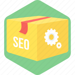 marketing, optimization, package, seo icon