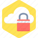 safety, cloud, locked, protection, security