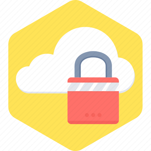 cloud, locked, protection, safety, security icon