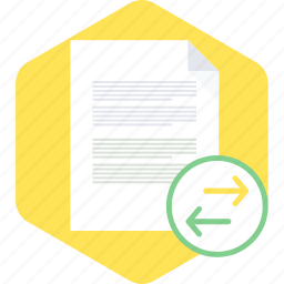 document, page, paper, share, sheet, text icon