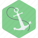 anchor, tool icon